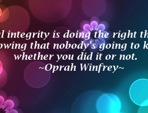4 Reasons Why Integrity Should Be Your #1 Quality